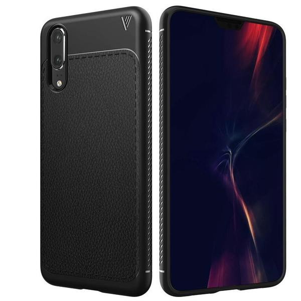 Leather effect ultra-thin case for Huawei P20/P20 Pro