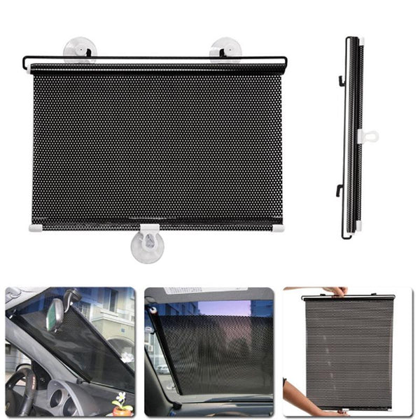 135*58CM Retractable UV-proof sunshade for cars
