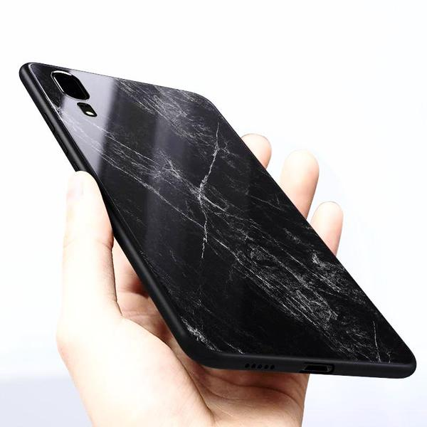 MATERIAL tempered glass case for Huawei