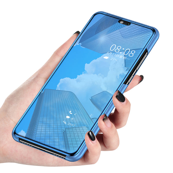 competitive price 0e098 87c60 Crystal Transparent case with flip window for Huawei P20 - P20 Pro -P20 Lite