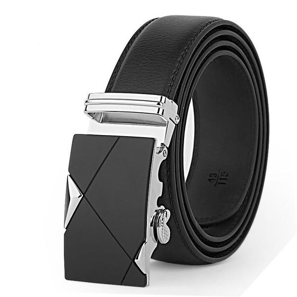 High quality leather men's belt