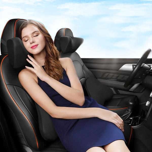 Anti-stress cushion - no more neck or back pain while driving!