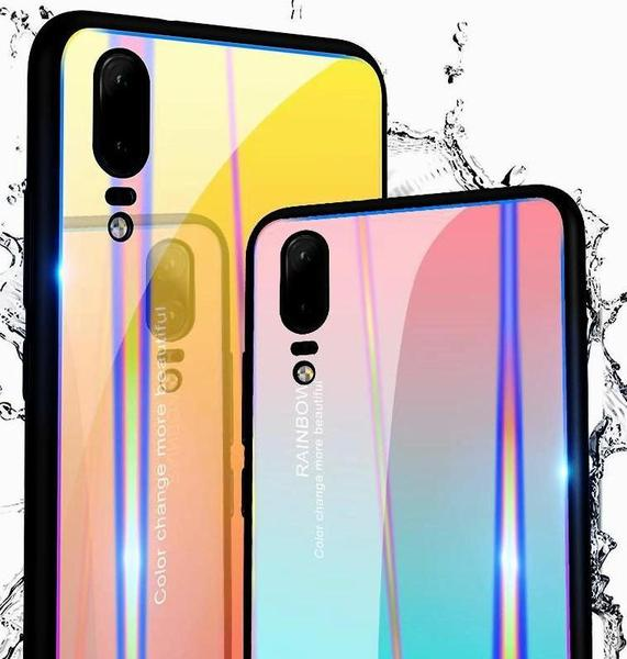 RAINBOW® 9H glass case for Huawei