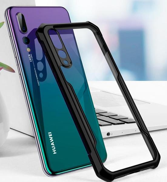Armored crystal case for Huawei P20/P20 Pro