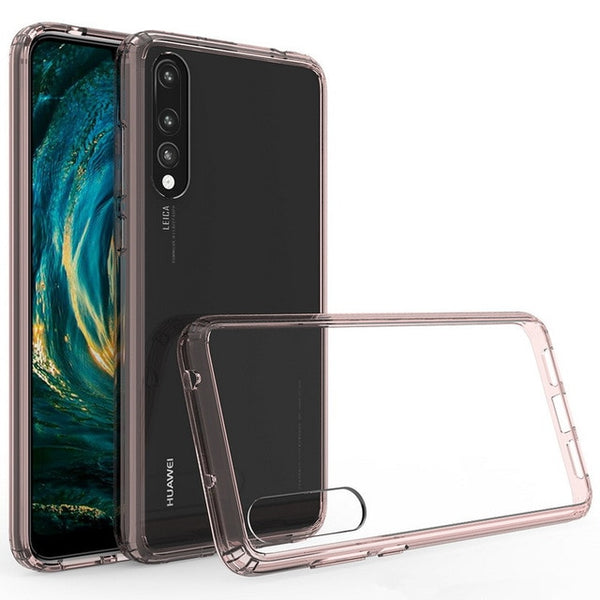 Glassy Corner A - 9h glass and PC super resistant case for Huawei