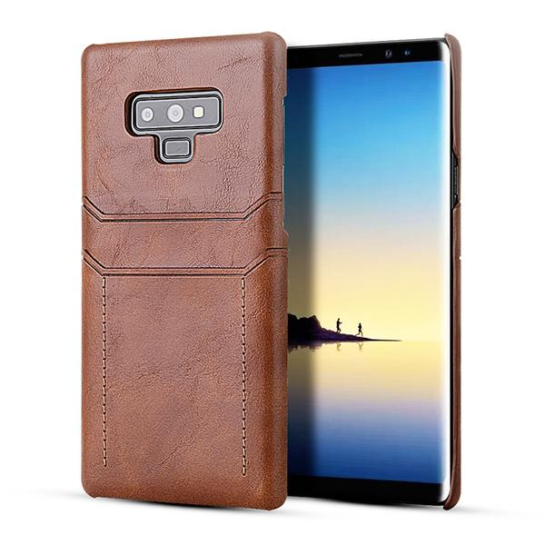 Card holder leather case for Samsung