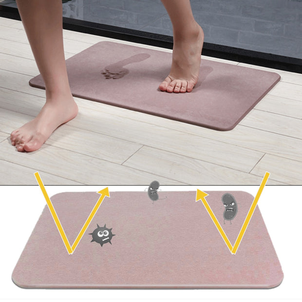 Rapid® - anti slip bathroom mat (only 60 seconds to dry!)