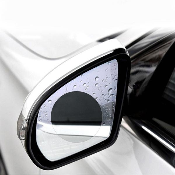 View® - Rain proof protective film for car rear-view mirror (2 pieces)