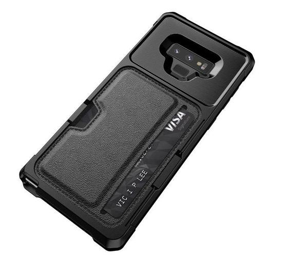 Card Slot magnetic case for S9/ S9+/ Note 9