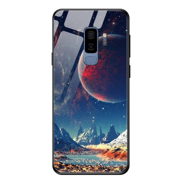UNIVERSE tempered glass case for Samsung