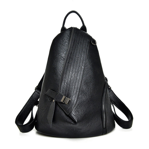 Leather Pack® - genuine sheep leather fashionable backpack