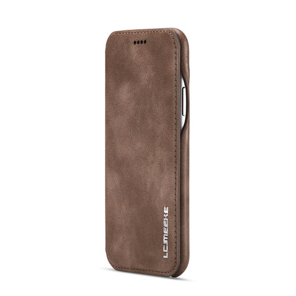 2019 leather wallet case for iPhone