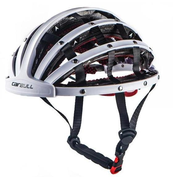 CairBull® - foldable ultra light bicycle helmet - SECURITY READY AT HAND