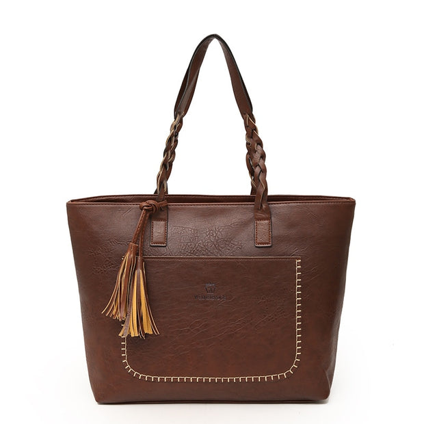 W Queen® - Vintage eco-friendly leather bag