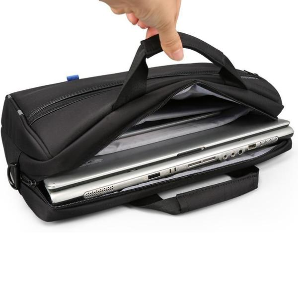 Waterproof business bag with USB ready charger