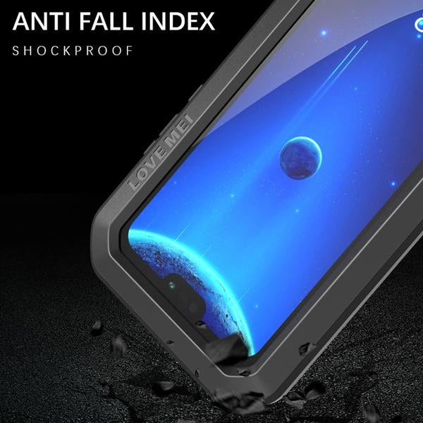Indestructible® - Carbon titanium hyper resistant case for Huawei