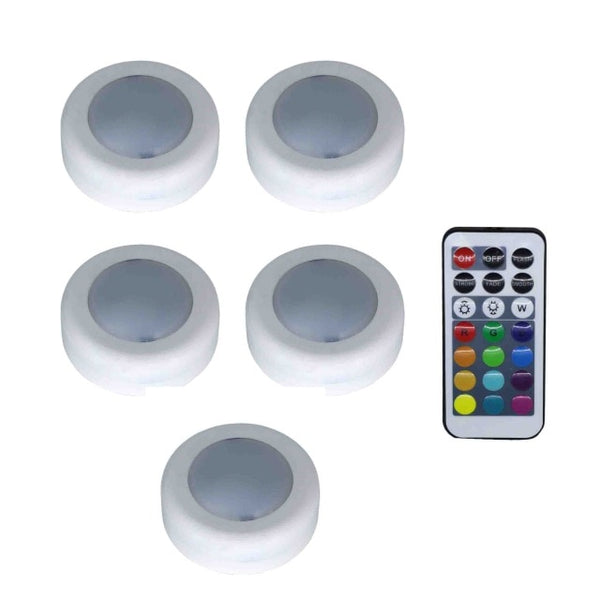 Colorful LED lights with remote control