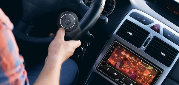 Universal multimedia controller for steering wheel