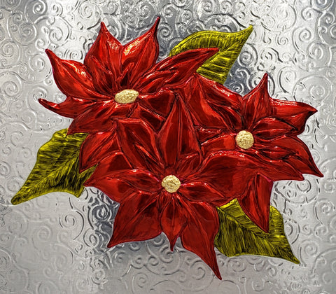 Christmas Card 2020 - Poinsettias