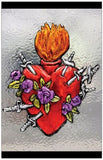 Note Cards - 7 Sorrows Sacred Heart Blank-Singles