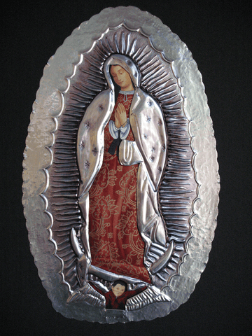 SOLD Our Lady of Guadalupe w/ Fabric