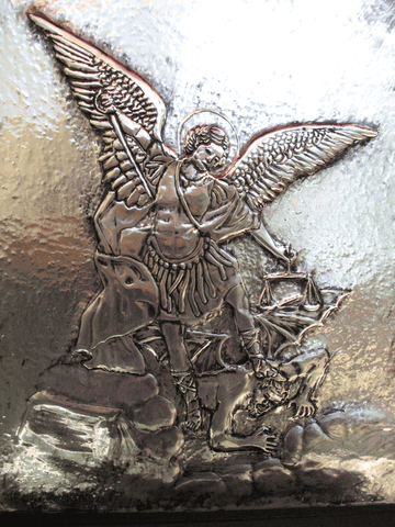 SOLD - Saint Michael, the Archangel