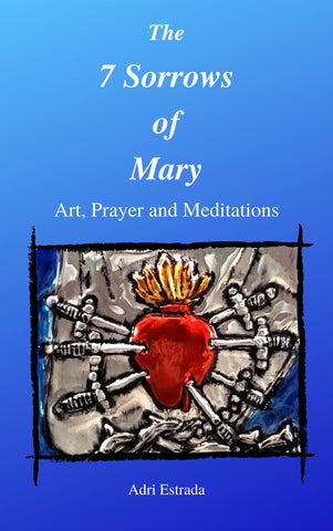 7 Sorrows of Mary Art Prayer book, Pre-order