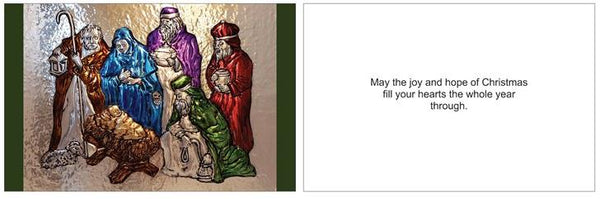SOLD 2018 Christmas Card - Nativity
