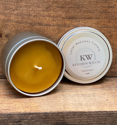Local Beeswax Candle