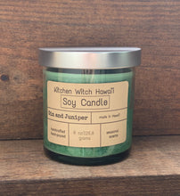 Gin and Juniper Soy Candle