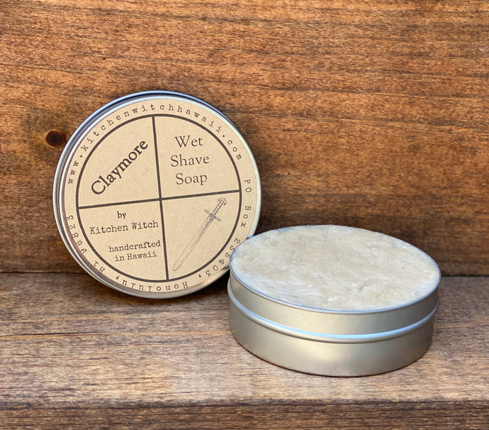 Claymore Wet Shave Soap