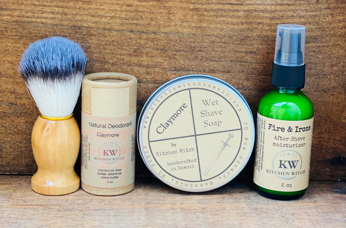 Claymore Clan Shave Kit