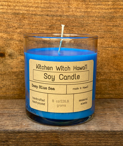 Deep Blue Sea Soy Candle
