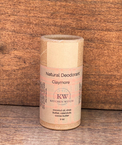 Claymore Natural Deodorant