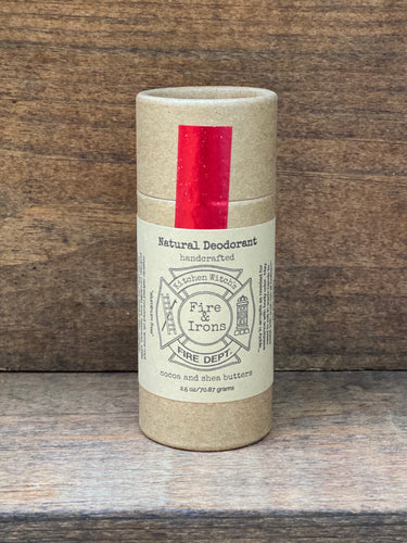 Fire and Irons Natural Deodorant