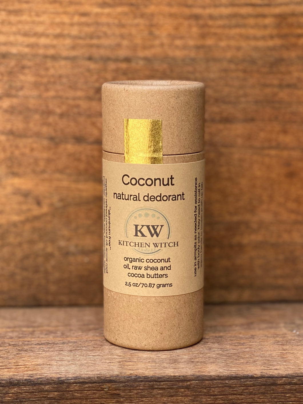 Coconut Natural Deodorant