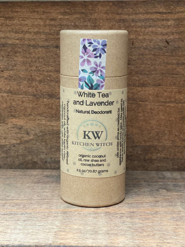 White Tea and Lavender Natural Deodorant
