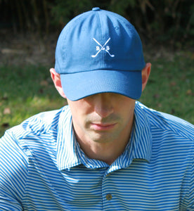 Cross Clubs Dad Hat - Barbells & Birdies