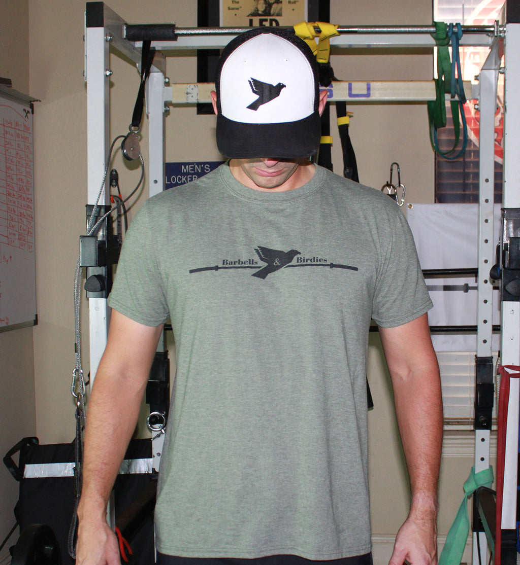 Men's Signature Military Green Heather Tee