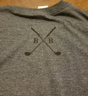 Men's Signature Dark Heather Tee - Barbells & Birdies