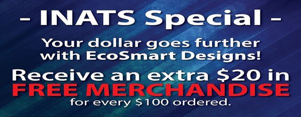 Trade Show Weekend! EcoSmart Designs at INATS in Denver | Ecosmart