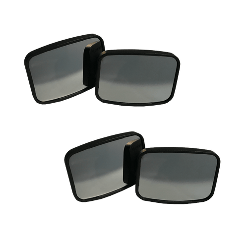MaxiView Blind Spot Mirrors - 2 Pair
