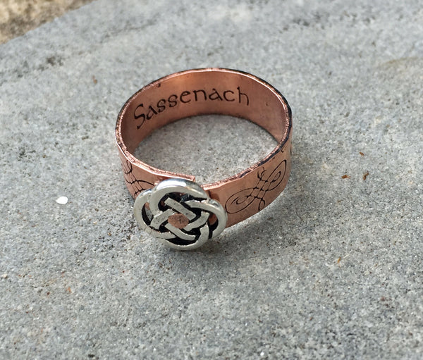 Copper Sassenach Ring - Outlander-Inspired-Ring-Mod Jules