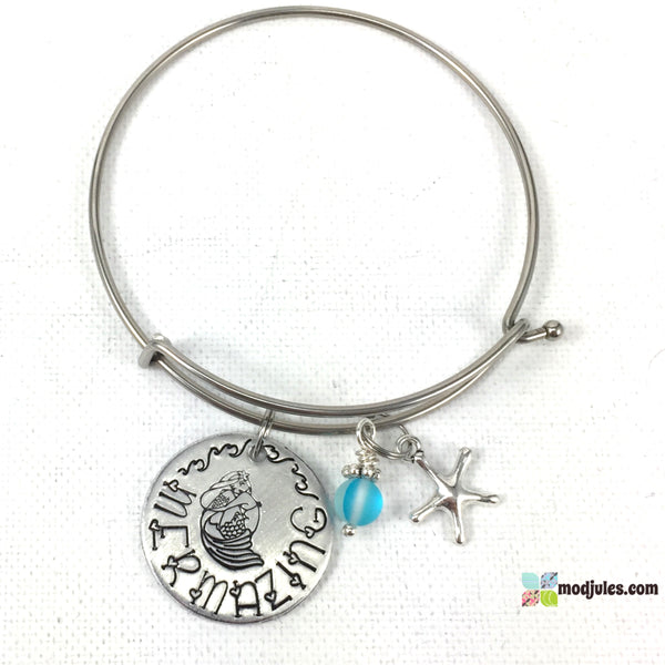 Mermazing Mermaid Bangle or Necklace-Bracelet-Mod Jules