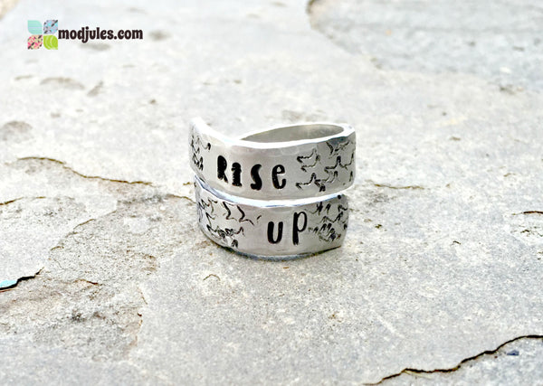Rise Up Alexander Hamilton Inspired Ring-Ring-Mod Jules