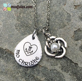 "Gaelic Mo Chridhe ""My Heart"" Bracelet or Necklace - Scottish Luckenbooth Celtic Wedding Love Token - Outlander-Inspired-Bracelet-Mod Jules"