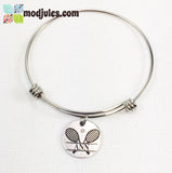 Personalized Tennis Bangle Bracelet or Necklace-Bracelet-Mod Jules