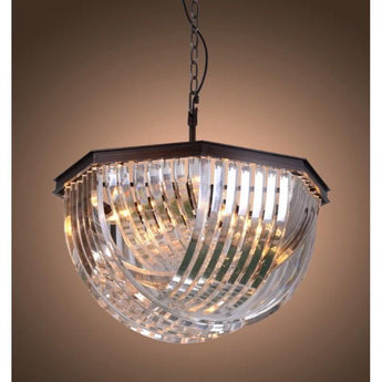 Aberdeen Glass Hanging Lamp - The Lighting Lounge Australia