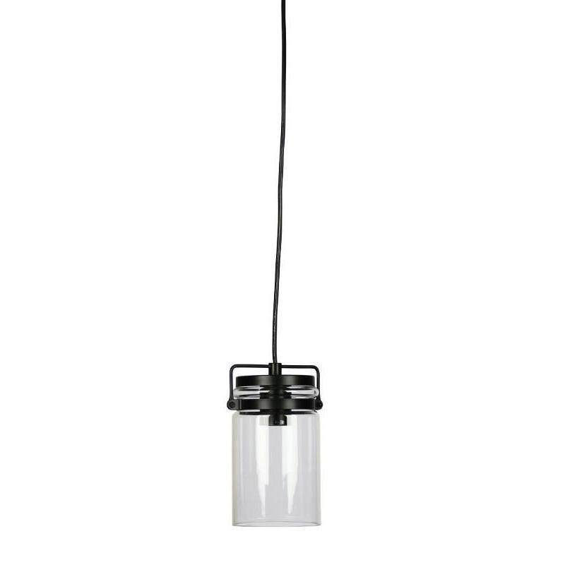 Agar Clear Glass Vintage Pendant - The Lighting Lounge Australia