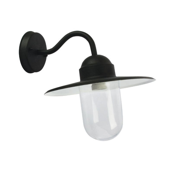 Alley Outdoor Wall Light Black - The Lighting Lounge Australia